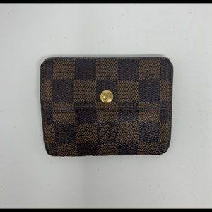 Louis Vuitton Ebene Damier Wallet